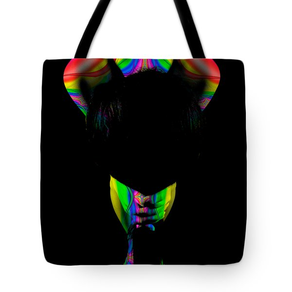 Projected Body Paint 2094999b Tote Bag