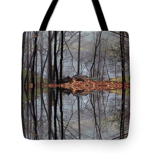 Projecting Contentment Tote Bag