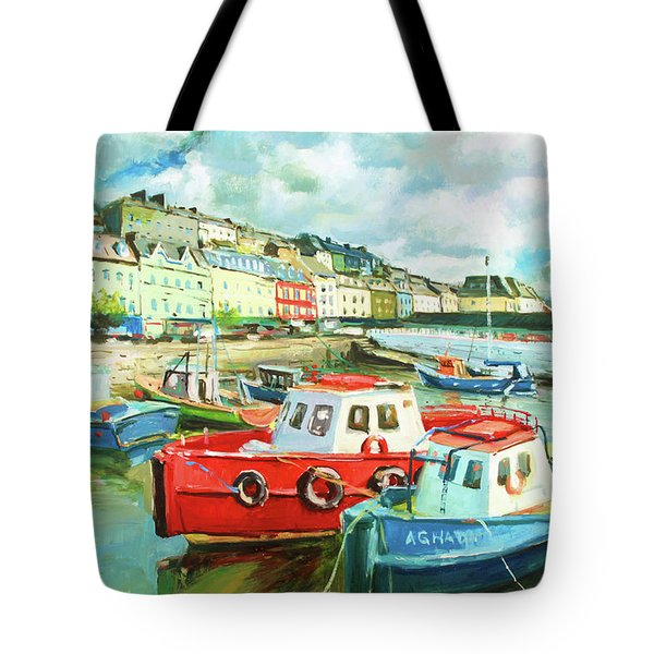 Promenade At Cobh Tote Bag