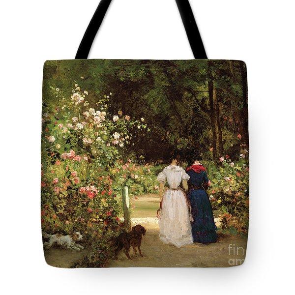 Promenade Tote Bag by Constant-Emile Troyon
