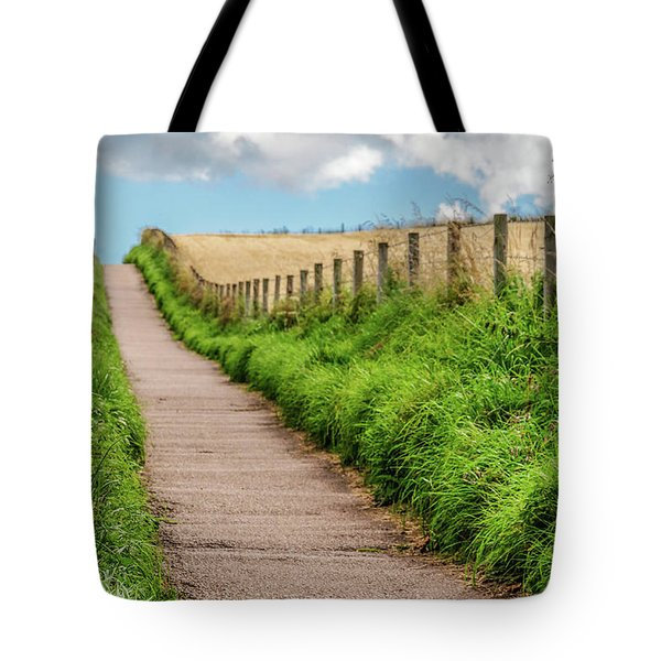 Promenade In Stonehaven Tote Bag