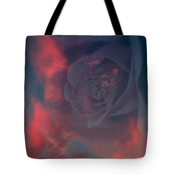 Promise Of Love Tote Bag by Karen Musick