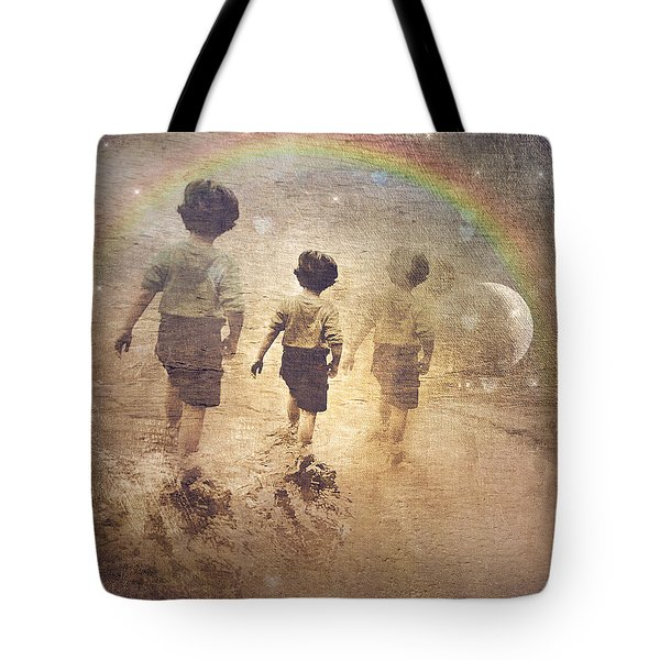 Phases Of The Journey--the Promise Of The Rainbow Tote Bag