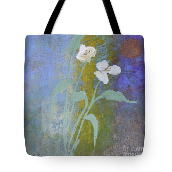 Tote Bag featuring the painting Promise by Robin Maria Pedrero