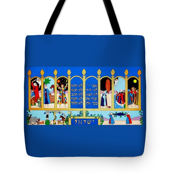 Tote Bag featuring the painting Promised Land by Stephanie Moore