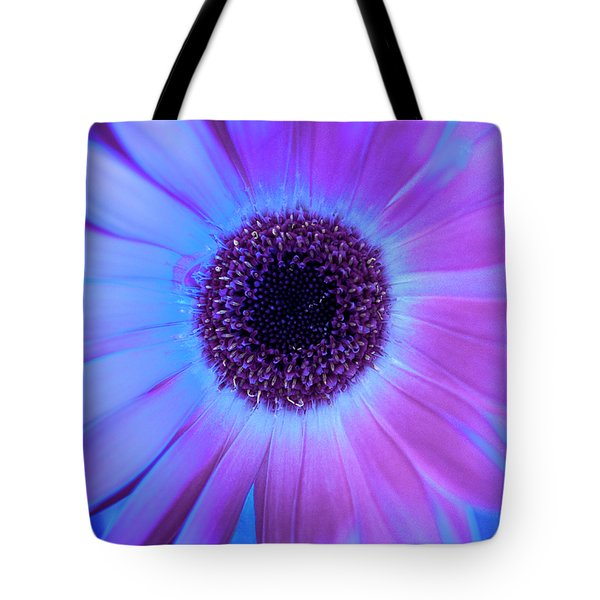 Tote Bag featuring the photograph Promises Of Blue And Pink by Christi Kraft