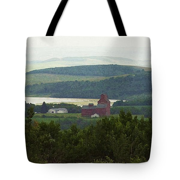 Prongy Hill Tote Bag