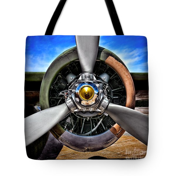 Propeller Art   Tote Bag