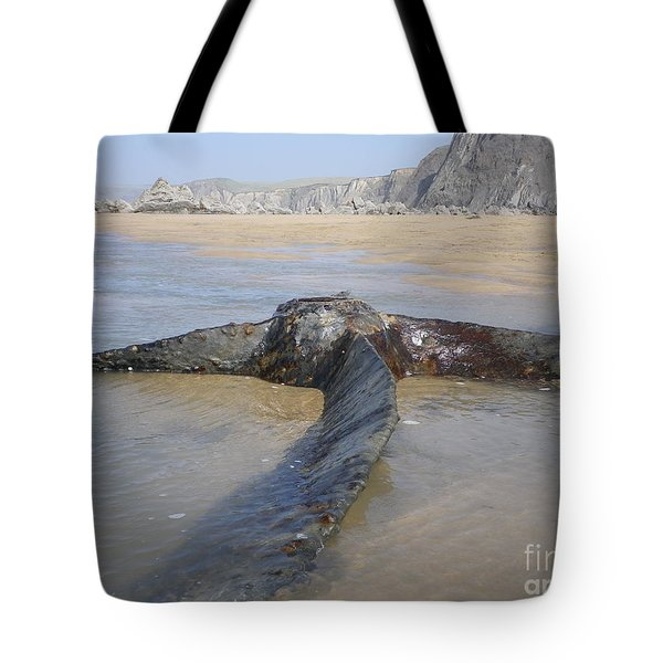 Propeller Steamship Belem Shipwreck Tote Bag by Richard Brookes