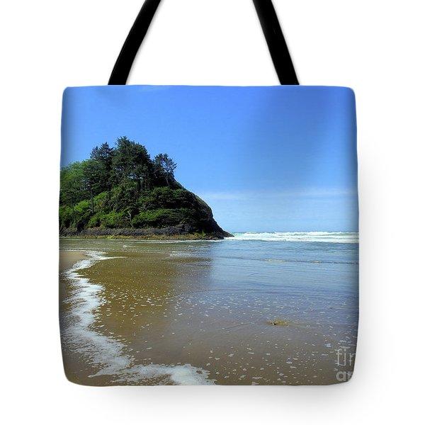 Proposal Rock Coastline Tote Bag