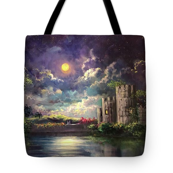 Proposal Underneath The Moon Tote Bag