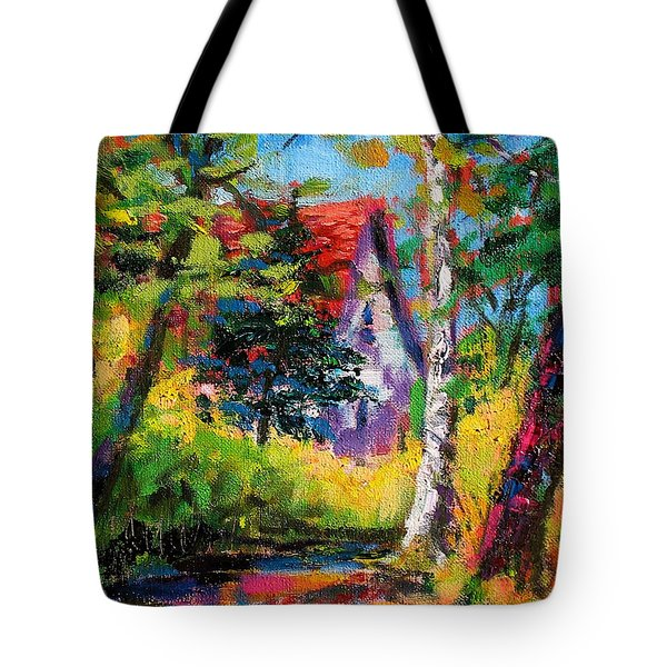 Prospect Driveway Tote Bag
