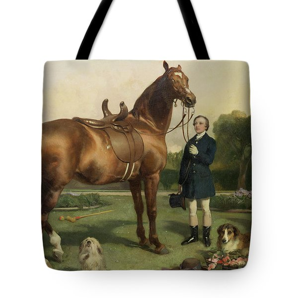 Prosperity Tote Bag by Sir Edwin Landseer