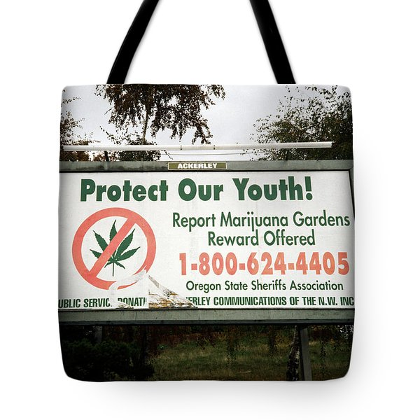 Protect Our Youth Tote Bag