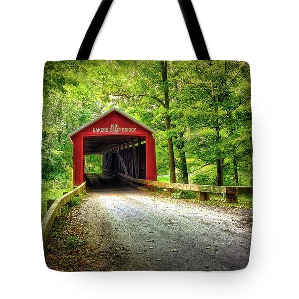 Protected Crossing In Summer Tote Bag