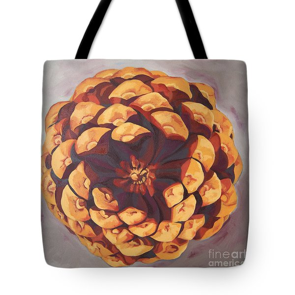 Tote Bag featuring the painting Protected by Erin Fickert-Rowland