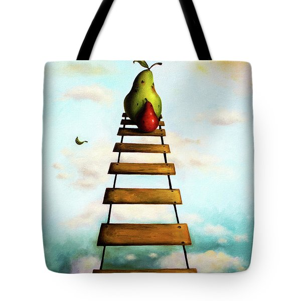 Protecting Baby 6 Tote Bag by Leah Saulnier The Painting Maniac
