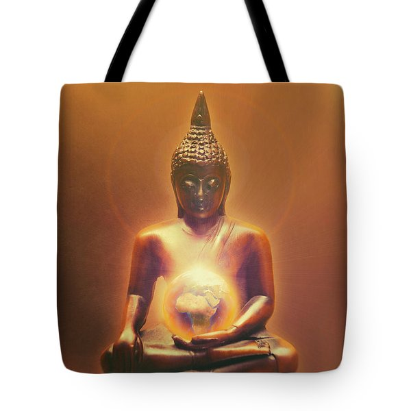 Protecting Earth Tote Bag