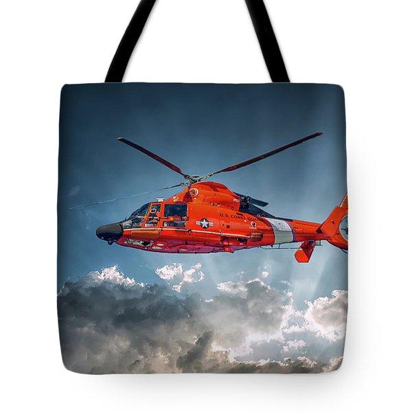 Protecting The Coast Tote Bag