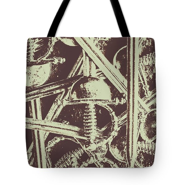 Protecting The Iron Gate Tote Bag
