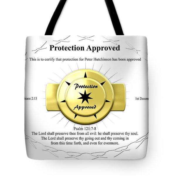 Protection Approved Tote Bag