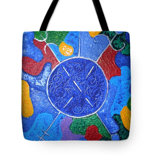 Protection By Mirroring Tote Bag