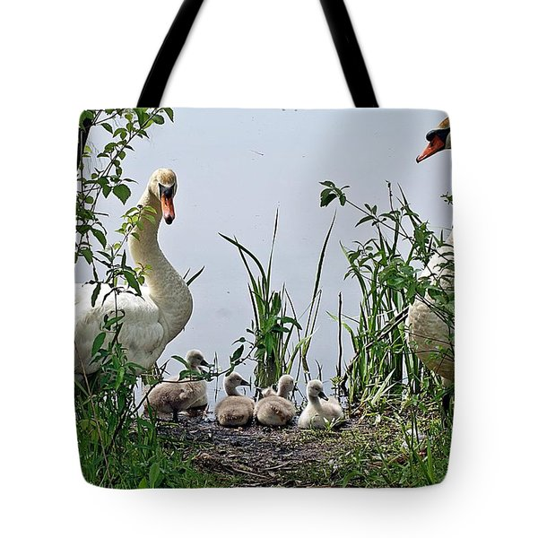 Protective Parents Tote Bag by Joe Faherty
