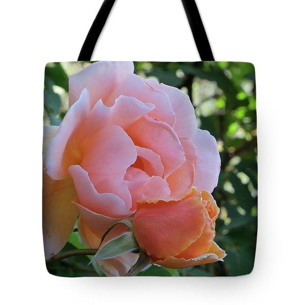 Protective Rose Tote Bag