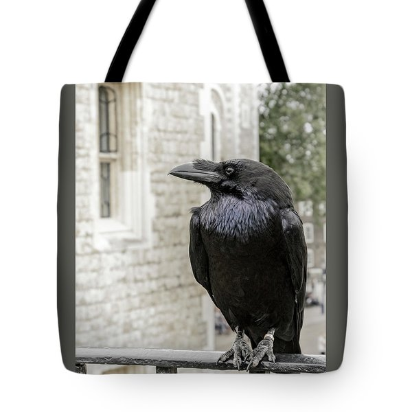 Tote Bag featuring the photograph Protector Of The Crown by Christina Lihani