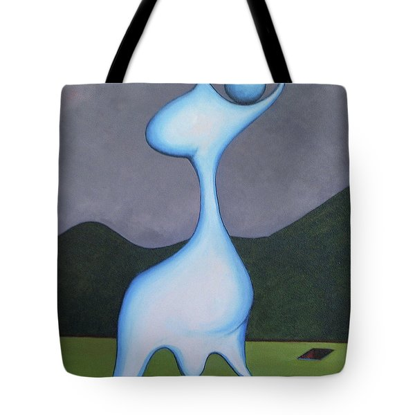 Protector Tote Bag by Robert Henne