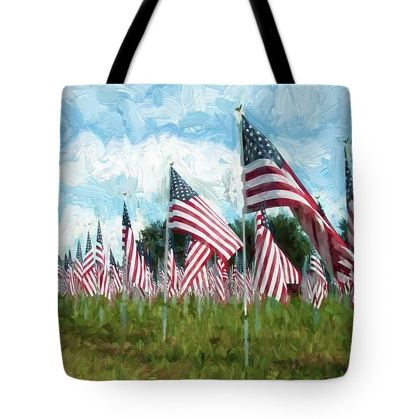 Proud And Free Tote Bag