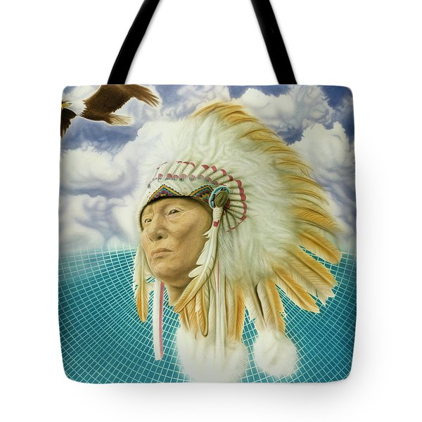Proud As An Eagle Tote Bag