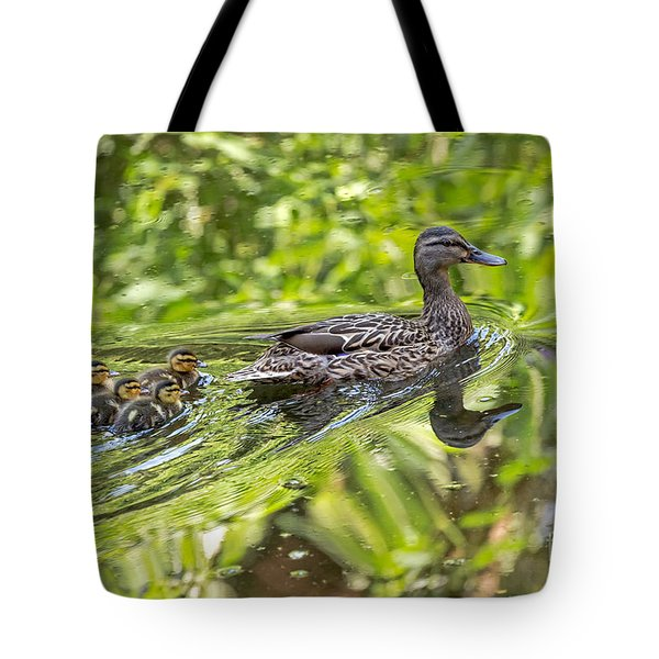 Tote Bag featuring the photograph Proud Mama by Kate Brown