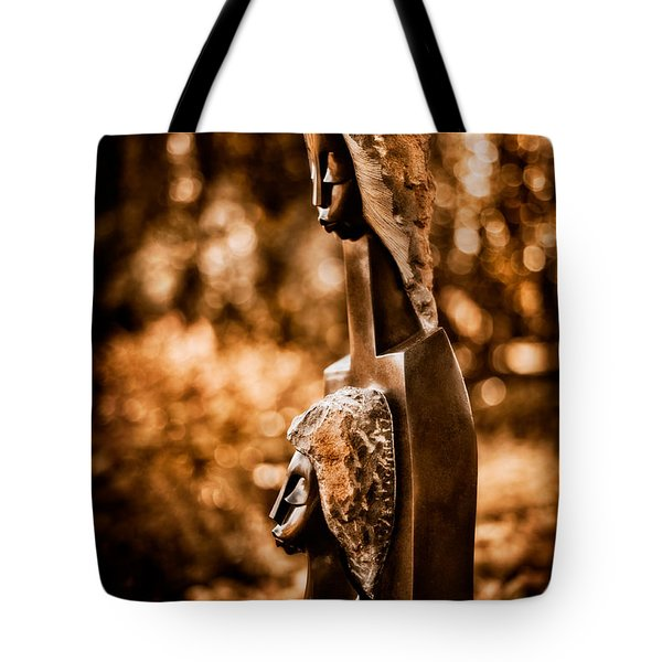Proud Of My Daughter Tote Bag by Venetta Archer