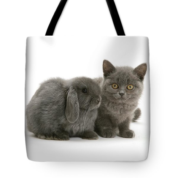 Proud Of My Grey Hare Tote Bag