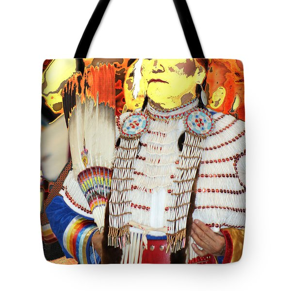 Proud Princess Tote Bag by Audrey Robillard