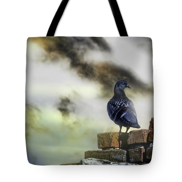 Proud To Be A Pigeon Tote Bag by Bob Orsillo