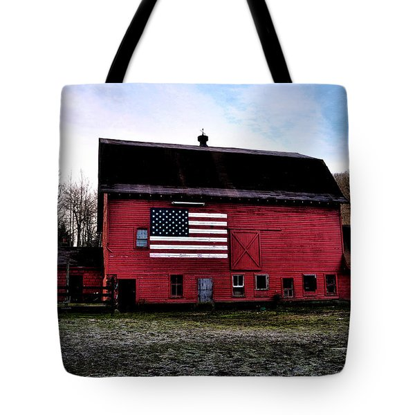 Proud To Be American Tote Bag by Bill Cannon