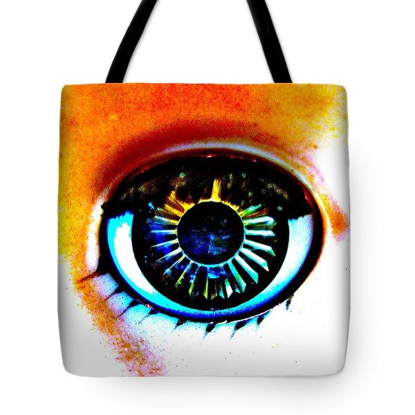 Provacative Tote Bag by Gwyn Newcombe