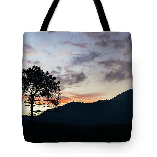 Provence, France Sunset Tote Bag