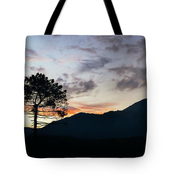 Provence, France Sunset Tote Bag