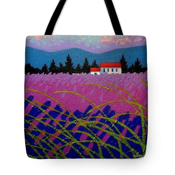 Provence Landscape Tote Bag by John  Nolan