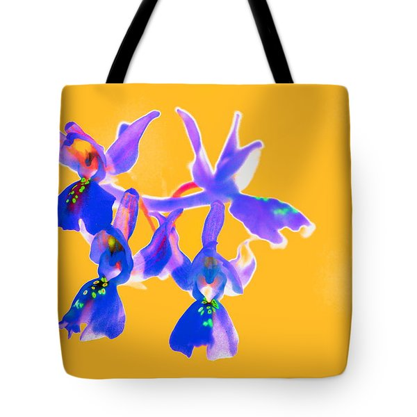 Orange Provence Orchid  Tote Bag