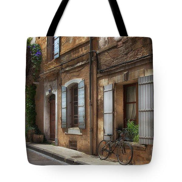 Provence Street Scene Tote Bag