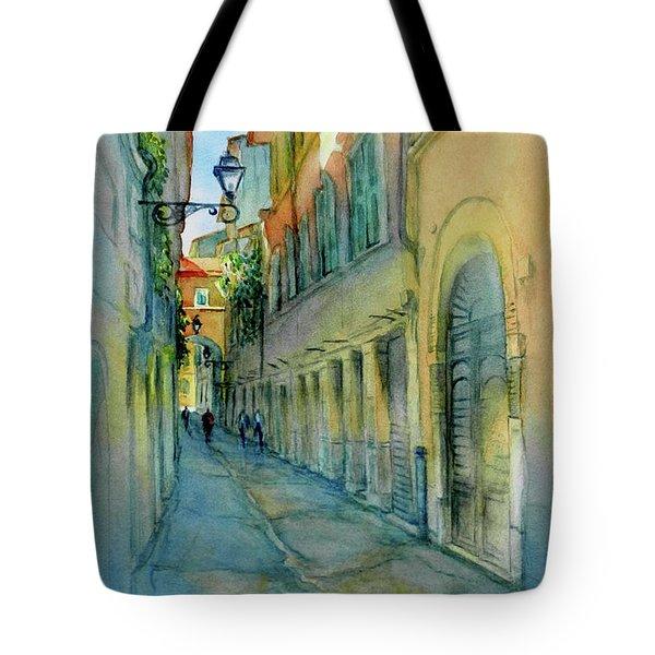 Provence Walk No 3 Tote Bag