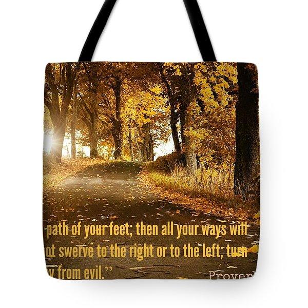 Proverbs104 Tote Bag