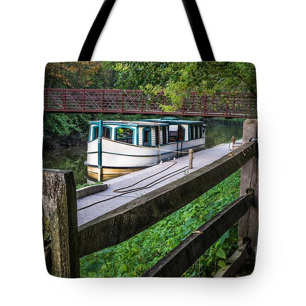 Providence Metropark Erie Canal  Tote Bag