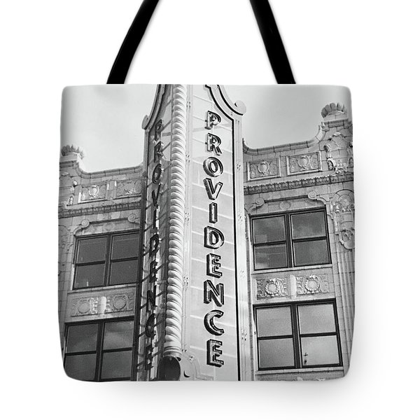 Tote Bag featuring the photograph Providence by Monique Faella