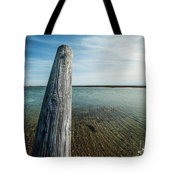 Provincetown Breakwater #2 Tote Bag