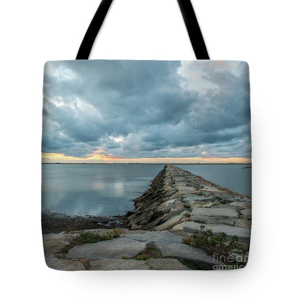 Provincetown Breakwater #3 Tote Bag